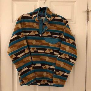 Patagonia Synchilla Aztec print pullover